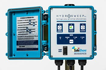 HydroSweep Pro Control Panel